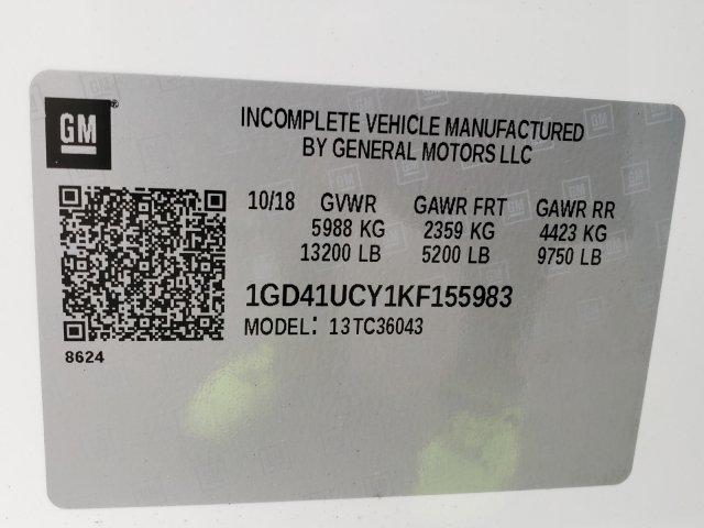 2019 Sierra 3500 Crew Cab DRW 4x2,  CM Truck Beds SK Model Platform Body #F1391029 - photo 7