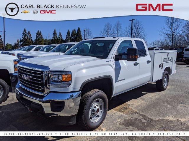 2019 Sierra 2500 Double Cab 4x4, Reading Service Body #F1391220 - photo 1