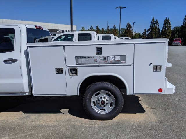 2019 Sierra 2500 Double Cab 4x4, Reading SL Service Body #F1391220 - photo 4