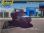 2018 Silverado 3500 Regular Cab DRW 4x4, Knapheide Stake Bed #8548 - photo 1