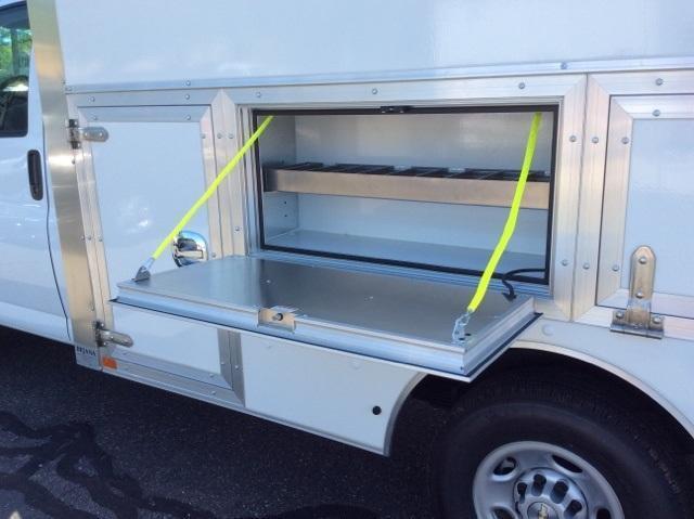 2018 Express 3500 4x2,  Dejana Truck & Utility Equipment DuraCube Max Service Utility Van #8726 - photo 13