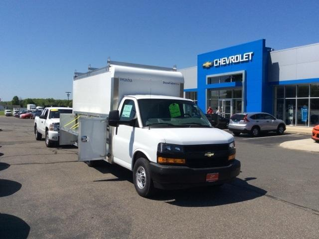 2018 Express 3500 4x2,  Dejana Truck & Utility Equipment DuraCube Max Service Utility Van #8726 - photo 3