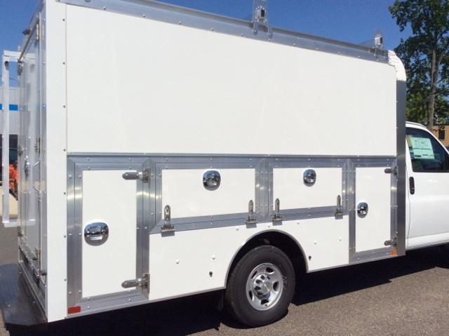 2018 Express 3500 4x2,  Dejana Truck & Utility Equipment DuraCube Max Service Utility Van #8726 - photo 26