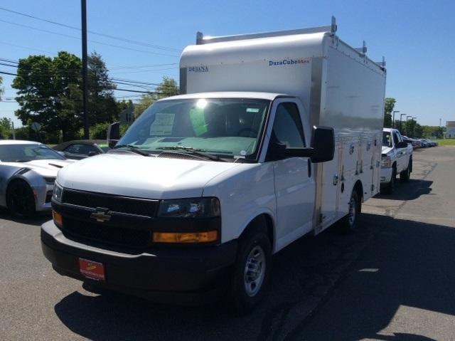 2018 Express 3500 4x2,  Dejana Truck & Utility Equipment DuraCube Max Service Utility Van #8726 - photo 7