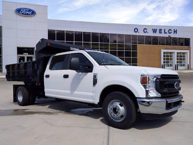 2021 Ford F-350 Crew Cab DRW 4x2, Godwin Dump Body #00T12192 - photo 1