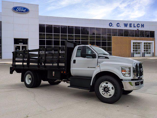 2022 Ford F-650 Regular Cab DRW 4x2, Double A Stake Bed #00T02250 - photo 1
