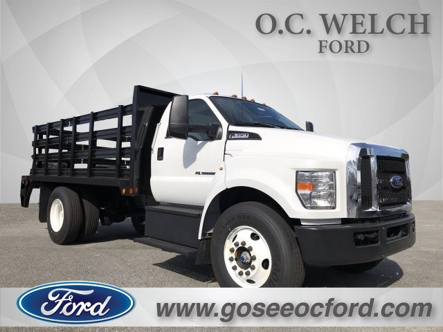 2019 Ford F-650 Regular Cab DRW 4x2, Double A Stake Bed #00T02657 - photo 1