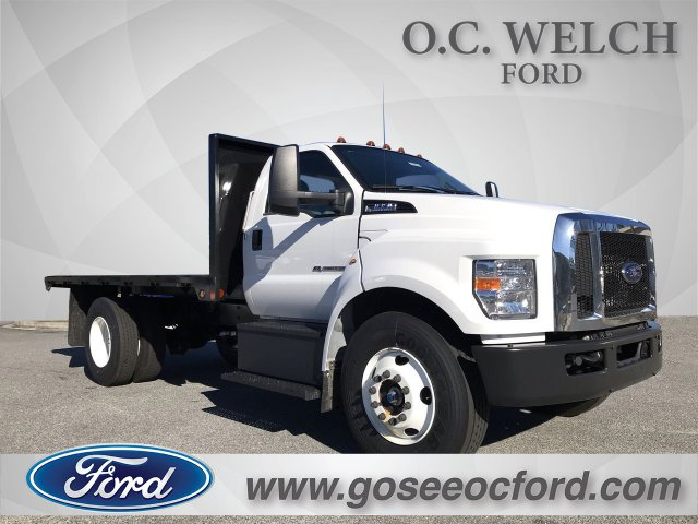 2019 Ford F-650 Regular Cab DRW 4x2, Double A Platform Body #00T02803 - photo 1