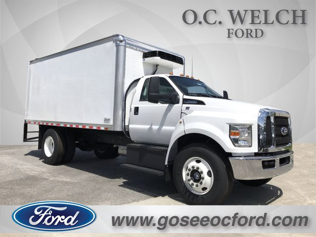 2019 Ford F-650 Regular Cab DRW 4x2, Complete Dry Freight #00T03474 - photo 1