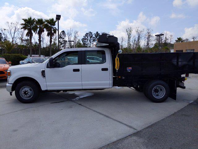 2021 Ford F-350 Crew Cab DRW 4x2, Godwin 300U Dump Body #00T12192 - photo 7