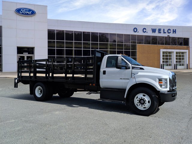 2019 Ford F-650 Regular Cab DRW RWD, Double A Stake Bed #00T15813 - photo 1