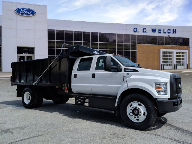 2019 Ford F-650 Crew Cab DRW RWD, Double A Landscape Dump #00T15948 - photo 1