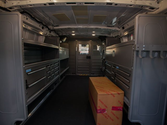 2018 Transit 150 Low Roof 4x2,  Adrian Steel PHVAC Upfitted Cargo Van #00T25457 - photo 2