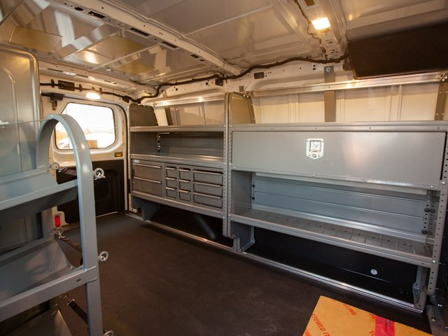 2018 Transit 250 Low Roof 4x2,  Adrian Steel Upfitted Cargo Van #00T25459 - photo 2