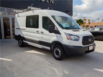 2018 Transit 250 Med Roof, Adrian Steel PHVAC Upfitted Van #00T25460 - photo 3
