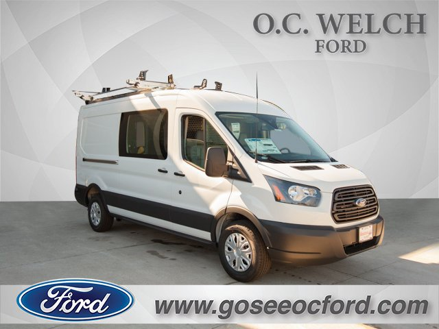 2018 Transit 250 Med Roof 4x2,  Adrian Steel Upfitted Cargo Van #00T25461 - photo 3
