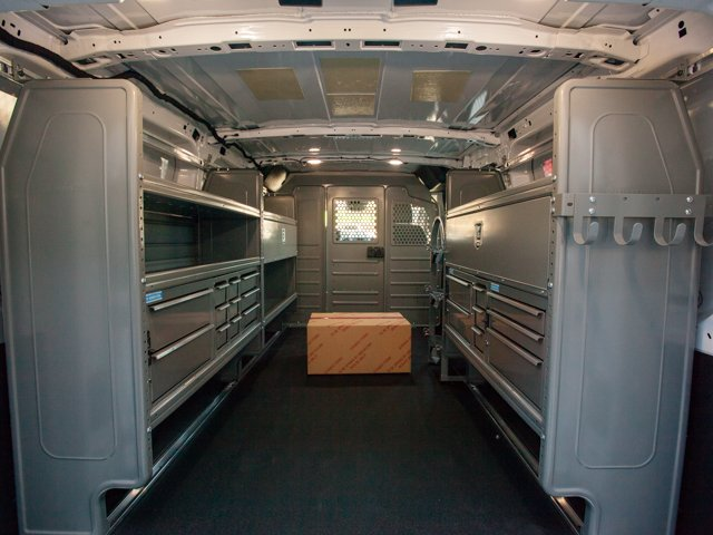 2018 Transit 250 Low Roof 4x2,  Adrian Steel Upfitted Cargo Van #00T27121 - photo 2
