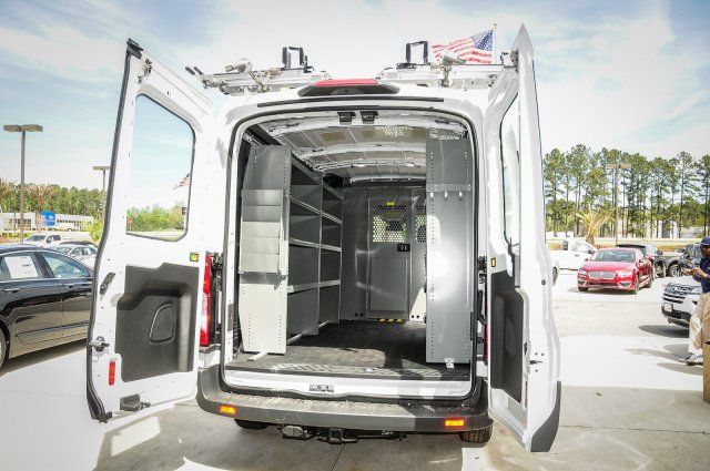 2018 Transit 250 Med Roof 4x2,  Adrian Steel Upfitted Cargo Van #00T41082 - photo 2
