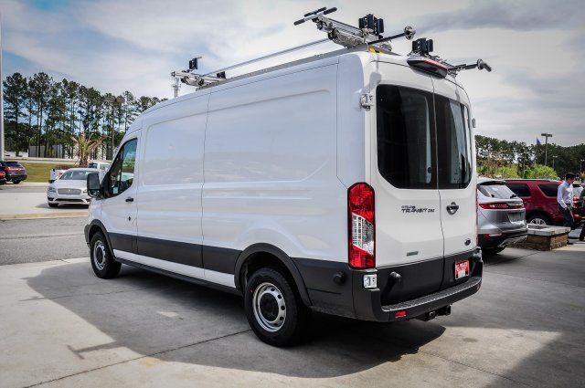 2018 Transit 250 Med Roof 4x2,  Adrian Steel Upfitted Cargo Van #00T41082 - photo 4