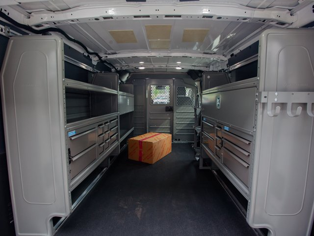 2018 Transit 150 Low Roof 4x2,  Adrian Steel PHVAC Upfitted Cargo Van #00T50678 - photo 2