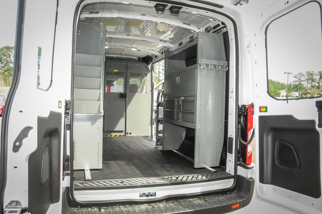 2018 Transit 250 Med Roof 4x2,  Adrian Steel Upfitted Cargo Van #0TA41083 - photo 2