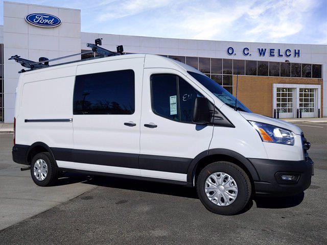 2020 Ford Transit 250 Med Roof 4x2, Adrian Steel Upfitted Cargo Van #00T75560 - photo 1