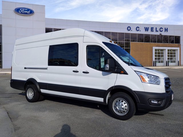 2020 Ford Transit 350 HD High Roof DRW RWD, Adrian Steel Upfitted Cargo Van #00T15703 - photo 1
