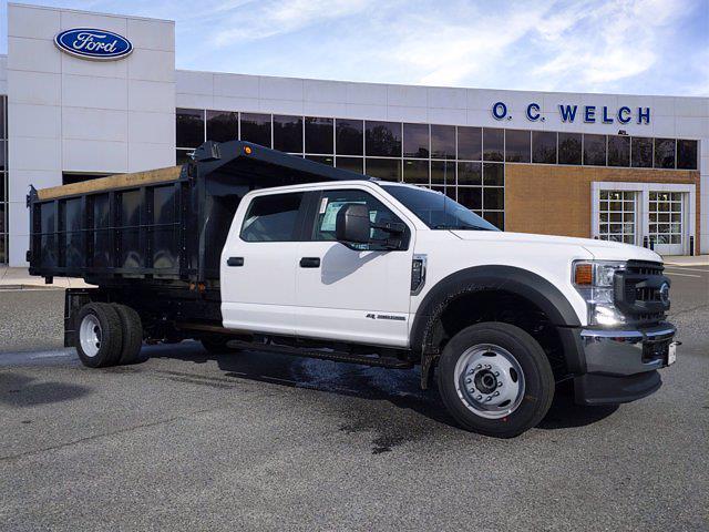 2021 Ford F-550 Crew Cab DRW 4x4, Godwin Landscape Dump #00T14047 - photo 1