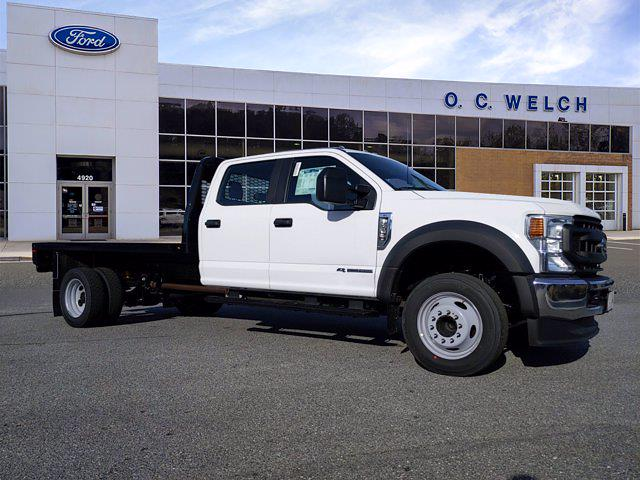 2021 Ford F-450 Crew Cab DRW 4x2, Knapheide Platform Body #0TB43107 - photo 1
