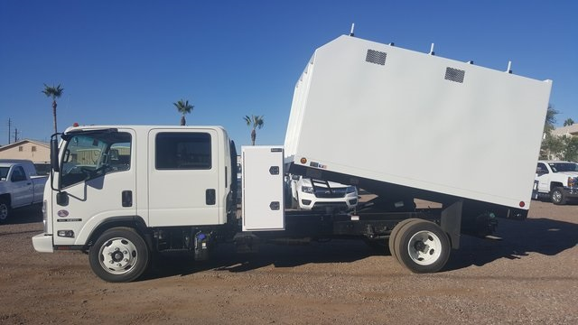 2019 NRR Regular Cab 4x2,  Sun Country Truck Chipper Body #190679 - photo 5