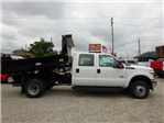 2016 F-350 Crew Cab DRW 4x4,  Reading Marauder Drop-Side Dump Body #BF0078 - photo 3
