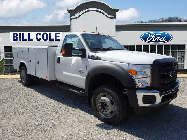 2016 F-550 Regular Cab DRW 4x4,  Reading Classic II Steel Service Body #BF0082 - photo 1