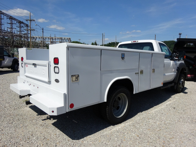2016 F-550 Regular Cab DRW 4x4,  Reading Classic II Steel Service Body #BF0082 - photo 2