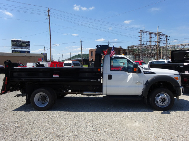 2016 F-550 Regular Cab DRW 4x4, Reading Dump Body #BF0085 - photo 3