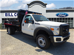 2016 F-550 Regular Cab DRW 4x4, Reading Dump Body #BF0085 - photo 1