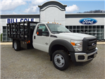 2016 F-550 Regular Cab DRW 4x4, Palfinger Stake Bed #BF0086 - photo 1