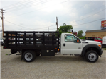 2016 F-550 Regular Cab DRW 4x4, Palfinger Stake Bed #BF0086 - photo 3