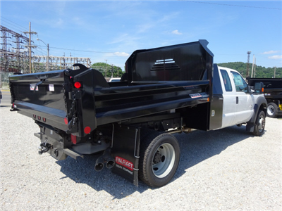 2016 F-550 Super Cab DRW 4x4, Crysteel Dump Body #BF0087 - photo 2