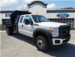 2016 F-550 Super Cab DRW 4x4, Crysteel Dump Body #BF0087 - photo 1