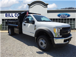 2017 F-550 Regular Cab DRW 4x4, Crysteel Dump Body #BF0240 - photo 1