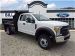 2017 F-550 Super Cab DRW 4x4, Crysteel E-Tipper Dump Body #BF0246 - photo 1