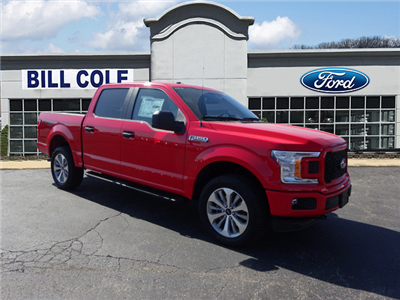 2018 F-150 Crew Cab 4x4 Pickup #BF0478 - photo 1