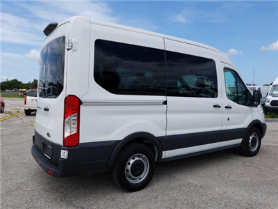 2018 Transit 150 Med Roof 4x2,  Passenger Wagon #BFX0815 - photo 2