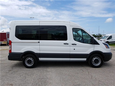 2018 Transit 150 Med Roof 4x2,  Passenger Wagon #BFX0815 - photo 7