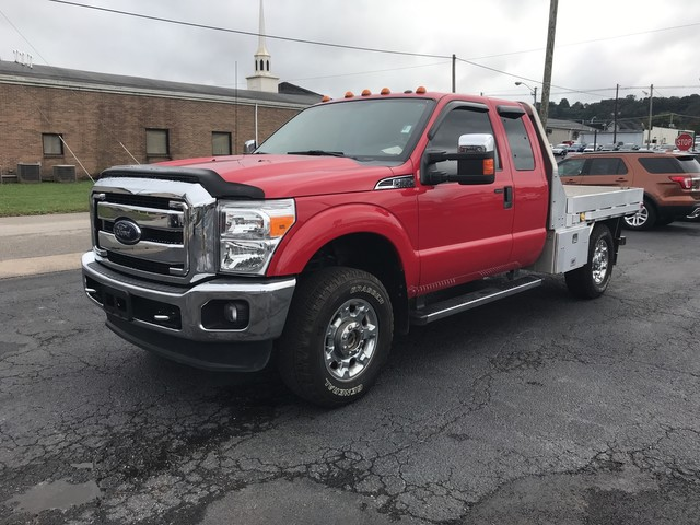2015 F-350 Super Cab 4x4,  Platform Body #BU0466B - photo 4