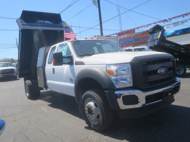 2016 F-550 Super Cab DRW 4x4, Crysteel Dump Body #F34463 - photo 4