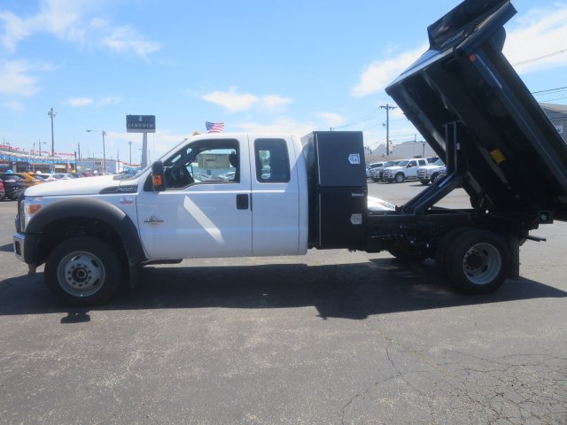 2016 F-550 Super Cab DRW 4x4, Crysteel Dump Body #F34463 - photo 6