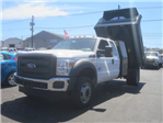 2016 F-550 Super Cab DRW 4x4, Crysteel Dump Body #F34463 - photo 1
