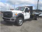 2016 F-550 Regular Cab DRW 4x4, Palfinger Platform Body #F34779 - photo 1