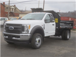 2017 F-550 Regular Cab DRW 4x4, Dump Body #F34995 - photo 1